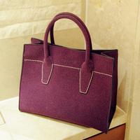Deerskin work bag 2013 winter fashion star bag handbag messenger bag women's handbag