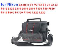 Camera case bag for Nikon Coolpix V1 V2 V3 S1 J1 J2 J3 P510 L120 L310 L610 L810 P100 P90 P520 P510 P500 P7700 P7100 L820 L620