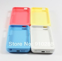 2200mAh Extended External POWER BANK Backup Battery USB Charger Case Cover for iPhone 5C