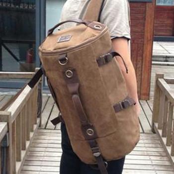 Promotion Модный Designer Vintage Canvas Big Размер Men Travel Bags Luggage Backpacks ...