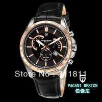 Pagani Design Business casual sports chronograph watch fashion watch calendar luminous belt men's watches (PS-3304)