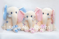 WJ073 Fashion Cute Plush Animal Pet Toy Movie Star Cartoon Elephant Style,25cm Height Pretty Gift For Children,Supernova Sale