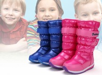 Free shipping! high quality boy&Girl boots/high-leg childrenshoes/children snow boots/winter warm shoes,waterproof