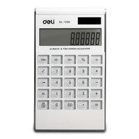 Lackadaisical 1256 quality panel thin solar calculator oversized 12 display screen computer