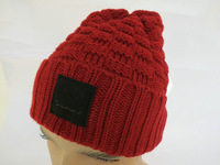 Cheap Diamond Supply Co Beanie Hats Red man and woman wool winter knitted caps most popular sports cap high quality freeshipping