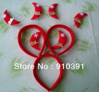 Hot Selling Free size Christmas hair band series Spring Moon/Heart for celebrating as Christmas gift headwear wholesale.