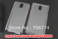 Ultra Thin Transparent Clear Hard Plastic Back Cover Case for Samsung Galaxy Note 3 III N9000 Note3 N 9000