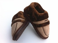 2013 winter package with cotton-padded shoes home slippers Men thickening plush warm shoes platform shoes