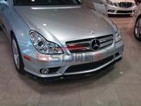 carbon fiber CS style  front  lip design for  05-09 Mercedes Benz CLS Class Front Lip (Fit AMG Or Sport Bumper)