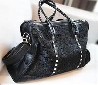 Summer new fashion portable shoulder complex Gulei Si bags  leather  shoulder bag