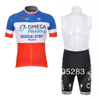 Free Shipping!2012 quick step Cycling Jersey Short Sleeve and bib shorts Cycling Clothing Cycling Team Sports 7040992MONTONcicli