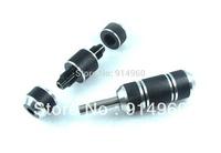 """2 pack black  New Aluminum Tattoo both side EZ Lock Grips Tube 1"""" (25*65mm)"""