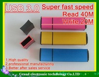 USB 3.0 drive usb stick 32GB 64GB 128GB usb drive overspeed Read 40M Write 20M free shipping add box