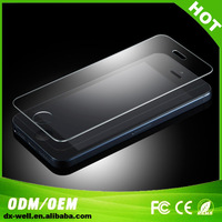 Freeshipping 10pcs/lot Premium Tempered Glass Cover Film Guard Screen Protector for iphone5