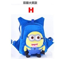 Despicable Me Minions child bags  best gift for kids on Christmas Day Despicable Me bags free shipping