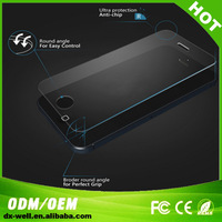 Free shipping Premium Explosion-proof phone screen protector  for iphone 4