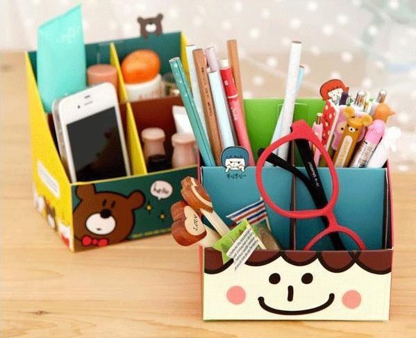 4pcs Bear Korean Magnetic Metal Cute Lucky Book Mark Clip School Office Supplies