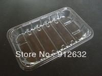 eco-friendly PET food plastic pallet, disposable food transparent TRAY dish food plastic pallet