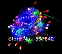Christmas Lighting 8M 52Led 110V 220V Xmas Decoration with led lamp bulbs 4pcs/lots  Free shiping