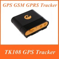 1Set TK108 Professional Waterproof MIni GPS tracker ipx-6 for kids dog pet tracker motorcycle car Tracking + Free Shipping