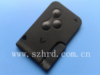 Megane 3 buttons smart key card renault wholesale and retail