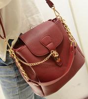 2013 all-match fashion bucket bag chain one shoulder handbag