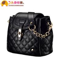 Circleof bag 2013 plaid bucket bag chain handbag cross-body women's handbag one shoulder bag x1476