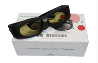 Promotion !! Rechargeable 3D glasses active shutter dlp 3D glasses,dlp link active shutter 3D glasses for all dlp 3D projectors