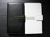 1 Piece Etui Coque Capa Celular Luxury Genuine Leather Standing Case for Sony Xperia Z l36h, Free Screen Film