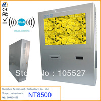 Wall mounted information kiosk/touch screen tablet kiosk