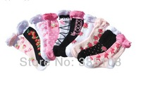 Spring and summer thin models, girls children socks ubble mouth, adults, wholesale, sweet princess socks / retro