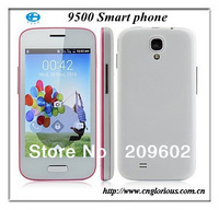 Free Shipping Dual SIM Dual Standby  M-Horse 9500 Smart phone SC6820 Android 4.1OS  4.0 Inch Smart phone Cheap price