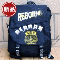 Anime Reborn School Bag Backpack Shoulder Bag + 1pc Card Sticker Free Shipping