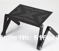 With cooler fan  High Quality Notebook Table Laptop Stand Laptop Holder Folding Laptop Table Computer Desk Bed Nottable Stand