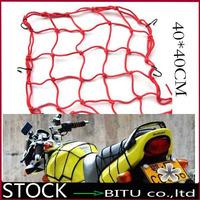 100pcs/lot 6 Hooks Hold Down Promo 40CM Motorcycle Helmet Net  BO1636