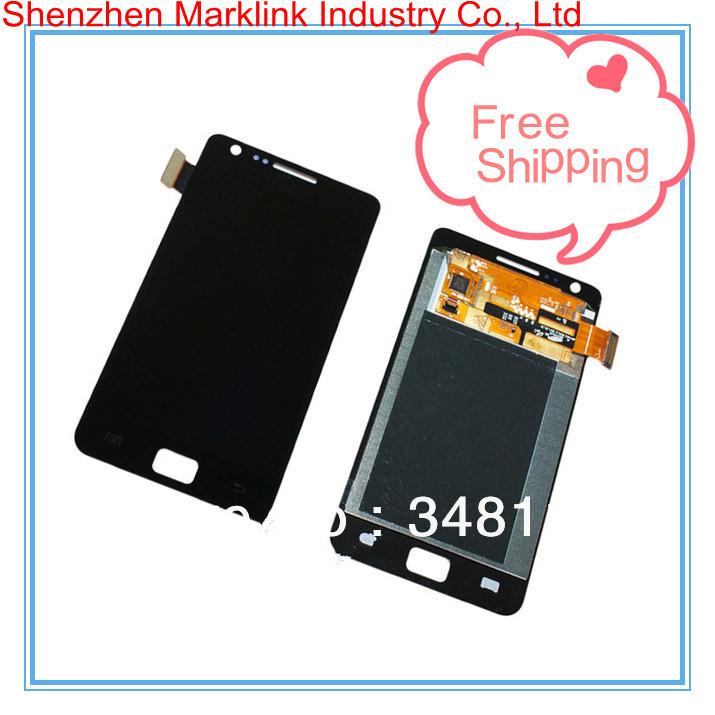 5pcs/lot For Samsung S2 i9100 LCD Assembly(China (Mainland))