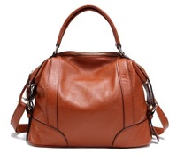 Wholesale elegant cowhide womens fashion handbags ,genuine leather ladies tote bags ,shoulder bags