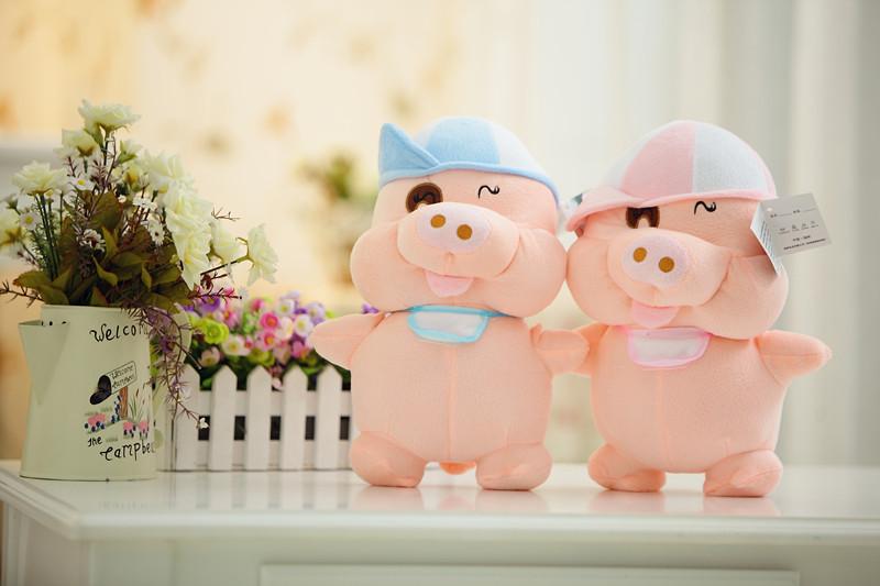 Frete Grátis! Hot! Bolsa Correio 80 centímetros McDull Pig Cat Lovers boneca de brinquedo de pelúcia Pig Grande menina boneca do aniversário para o Natal(China (Mainland))