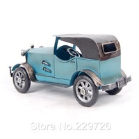 Hand Maded Metal Vintage Car Model with 3 color available Free Shipping