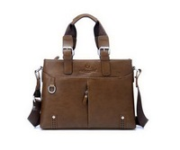 Men's Business Bag Computer Leisure Brifecases Brown