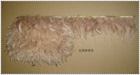 free shipping Feather cloth feather cloth feather turkey skirts feather cloth  10meter/pack
