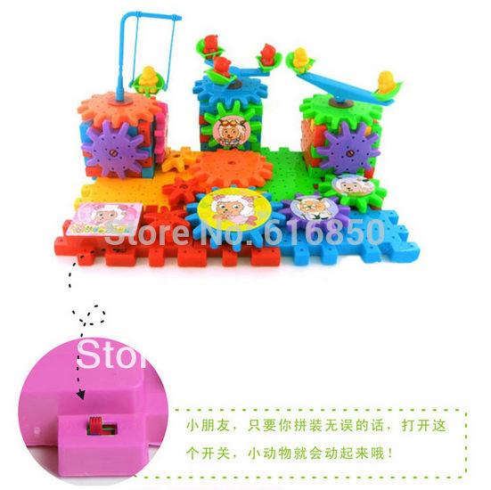 Hot! Elektronische comic-blöcke 81 Stück/set baby spielwaren pädagogische spielwaren fit für 1 bis 4 Jahre alt