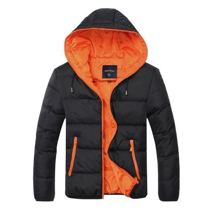 2014 New Year s gift men s casual hooded down jacket hooded down jacket thick winter