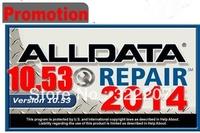 Newest !2014 Alldata10.53 Auto professional diagnostic repair software for Most comprehensive vehicles 1983-2014