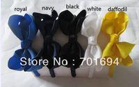Wholesale - - baby girl hair bows attached headbands hairband hairbows headband 30pcs/ot