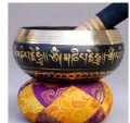 wholesale Tibetan Singing Bowl Bronze Tibetan Copper Crafted Tibetan Jewelry Handmade Buddhism White Copper Singing Bowl
