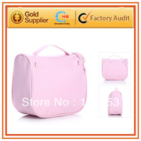 free shipping travel cosmetic bag nylon cosmetic bag portable cosmetic makeup set bag pencil  pouch  fashion cosmetic bags
