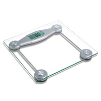Connecticut united states electronic weighing scales square tempered glass scale transparent electronic scales #free shipping