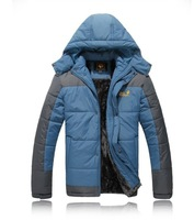 FREE SHIPPING pure European large size windproof outdoor sports cotton-padded coats jackets