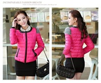 Down Filled Coat For Women Coat Feather Women Short Lady's Winter Warm Fashion 2013 Hot Sale!